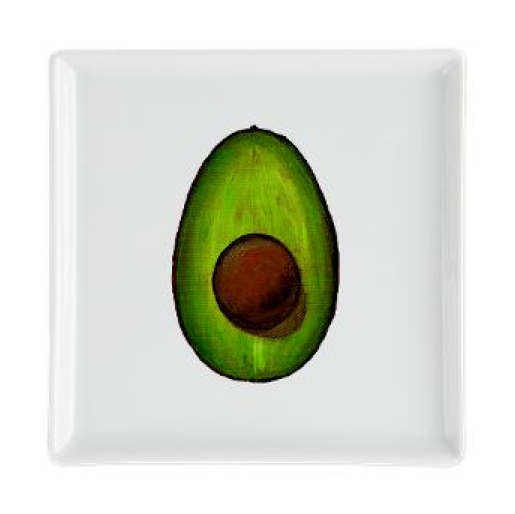 AvoCata Kitchen Avocado Cocktail Plate