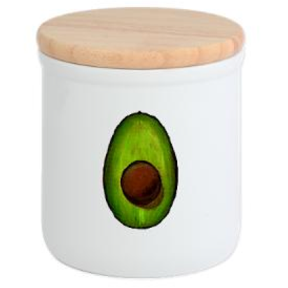 AvoCataKitchen Avocado Cookie Jar