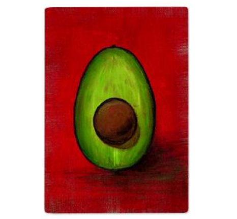 AvoCata Kitchen Avocado Cutting Board