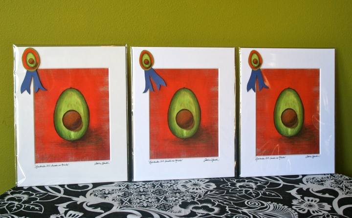 Garreton - Avocado painting
